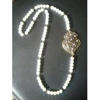 Halskette Herz von Viana Türkis