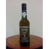 Vinho Madeira 5 Anos Seco 0,375L 18% vol.