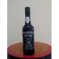 Vinho Madeira 10 Anos Doce 0,375L 18% vol.