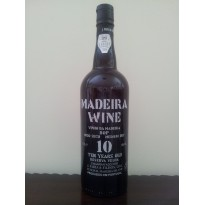 Vinho Madeira 10 Anos M/Seco 0,75L 18% vol.