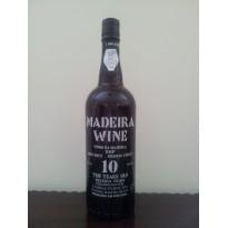 Vinho Madeira 10 AnosM/Doce 0,75L 18% vol.