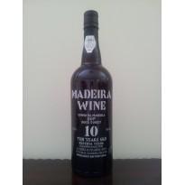 Vinho Madeira 10 Anos Doce 0,75L 18% vol.