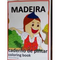 MADEIRA - Caderno de Pintar - Coloring Book