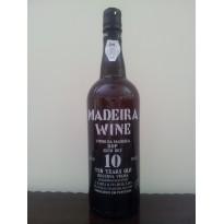 Vinho Madeira 10 Anos Seco 0,75L 18% vol.