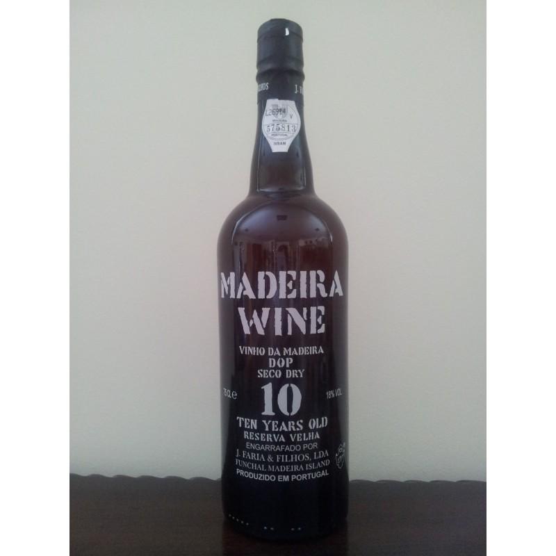 madeira wine 10 years dry 0 75l 18  vol