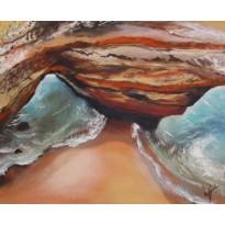 """Praias Solitárias"" 2015 Acrylic"