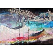 """""""O perfume do vento"""" 2012 Acrylique"""