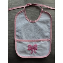 Rose Bib with Lace