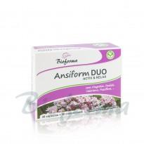 Ansioform DUO ACTIV e RELAX 30 cps 30 comp Bioforma